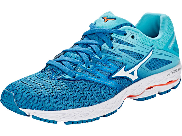 half off 0e44f f9bef Mizuno Wave Shadow 2 Shoes Women blue sapphire/white/blue curacao